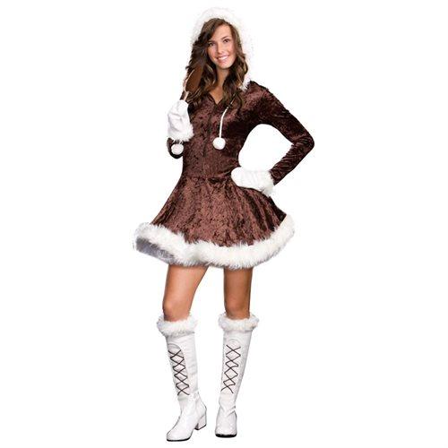 Sexy Eskimo Cutie Pie Costume Juniors Small 0