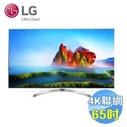 LG 65吋Nano Cell SUPER UHD 4K聯網液晶電視 65SJ800T 【送標準安裝】
