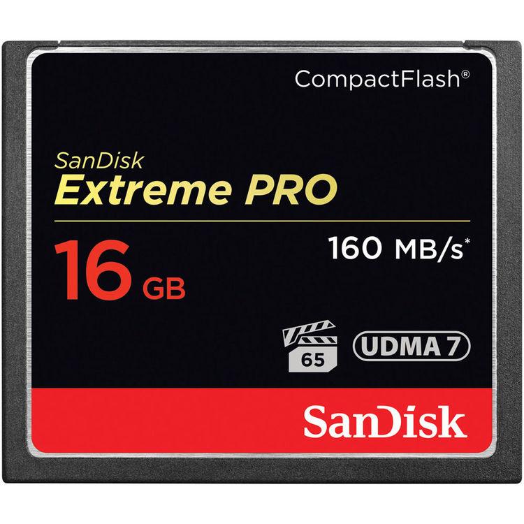 【普羅相機】SanDisk Extreme PRO 16G 160MB/s 1066X CF 記憶卡