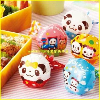 asdfkitty可愛家☆日本MSA熊貓圓球飯糰包裝紙-方便拿取食用-可愛形狀刺激食慾歐-日本製