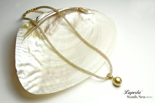 大東山珠寶 燦爛之星 頂級南洋金珍珠項鍊 極致閃耀 2