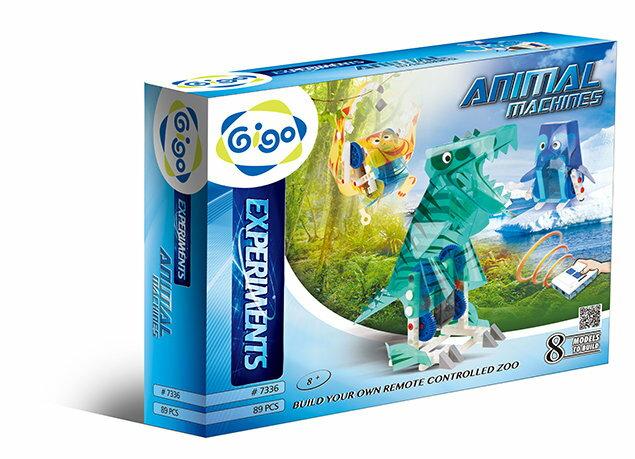 Gigo智高 - 科學實驗系列 - 遙控動物園 #7336 贈Gigo瓢蟲禮盒! 0