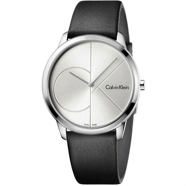 CKCalvinklein卡文克萊MINIMAL系列(K3M211CY+K3M221CY)新簡約時尚腕錶白面40+35mm