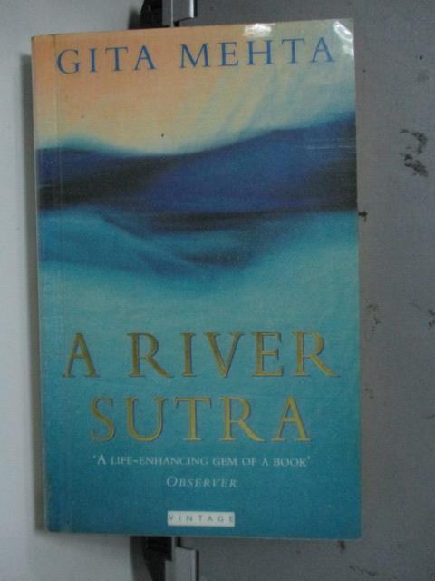 【書寶二手書T1/原文小說_LQM】A River Sutra_Gita Mehta