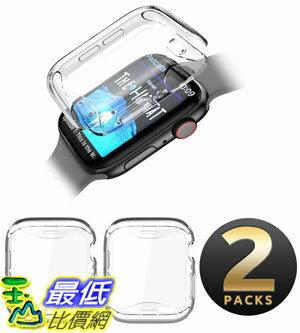 [7美國直購] 保護套 SUPCASE Apple Watch 4 Case 44mm 2018, [Built-in Screen Protector] Soft TPU Protector