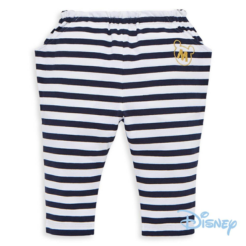 Disney 俏皮米奇哈倫棉褲(條紋)