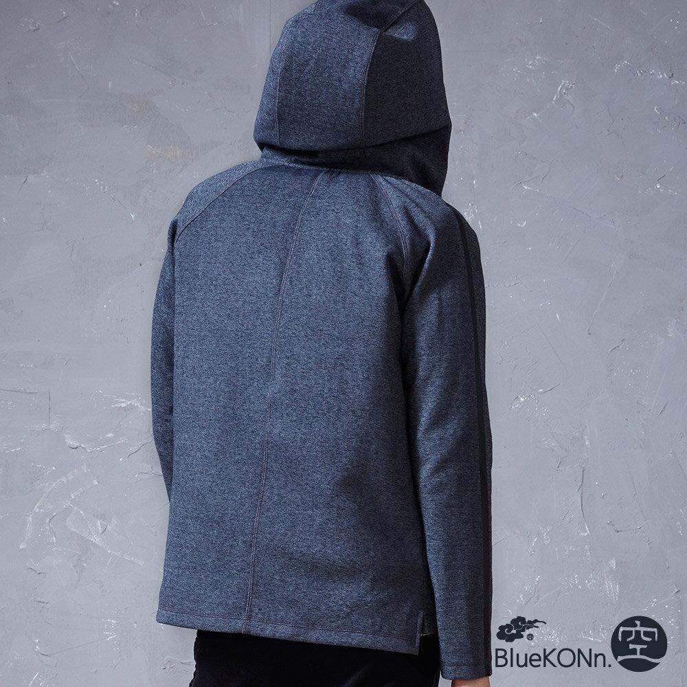 【限時5折】內裡可拆舖棉運動休閒外套(深灰) - BLUE WAY  BlueKONn.空 2