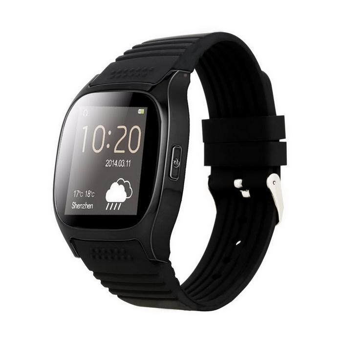 Bluetooth Smart Wrist Watch Phone Mate Touch Screen Support For Android IOS 2