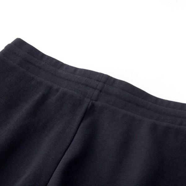 【滿額領券折$150】FILA 運動短褲 棉褲 小LOGO 鬆緊 黑色 女生【5SHV-1510-BK】