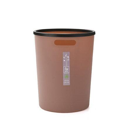 家用垃圾桶 創意家用簡約垃圾桶客廳無蓋大號塑膠紙簍臥室廚房衛生間垃圾分類『XY3923』