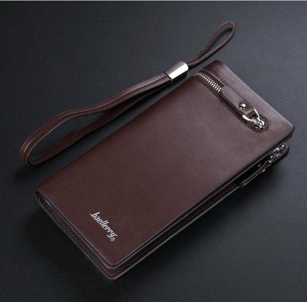 皮夾大容量男用長夾皮包錢包手拿包NO.6183【包包阿者西】