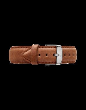 40MM 0132DW 黑錶面 真皮駝色錶帶 瑞典正品代購 Daniel Wellington 男錶手錶腕錶 2