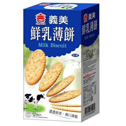 義美鮮乳薄餅12入【愛買】