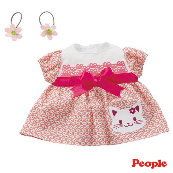 《 People 》POPO - CHAN 蝴蝶結小貓洋裝組合