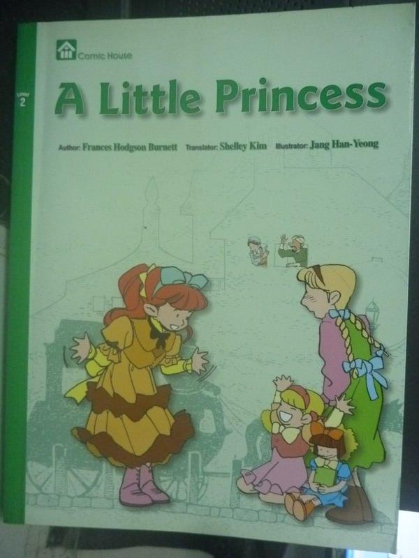 ~書寶 書T8/少年童書_ZBU~A little princess_Frances Ho