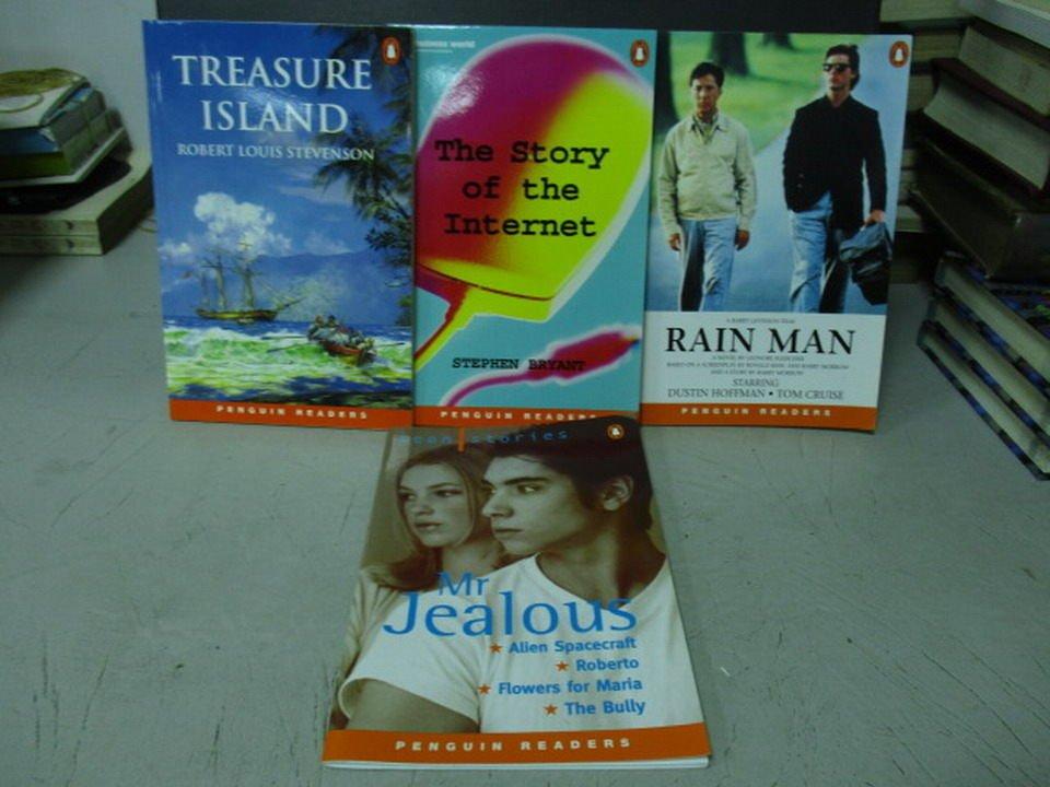 【書寶二手書T6/原文小說_LRQ】Rain man_Mr.Jealous等_共4本合售
