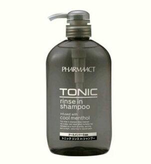 日本熊野Pharmaact TONIC 洗潤雙效洗髮精/涼感洗髮精 600ml