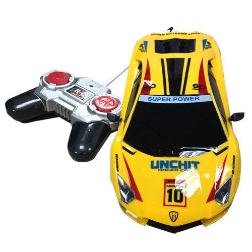 電動遙控車 黃色款 遙控電動車 跑車 玩具車 玩具 1:18模型 - 692827