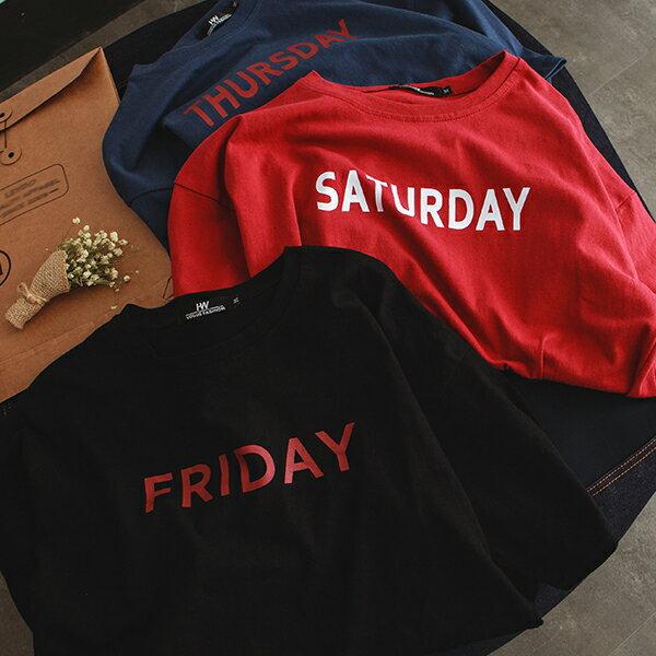 T恤 情侶裝 客製化 MIT台灣製純棉短T 班服◆快速出貨◆獨家配對情侶裝.每天.星期一 ~ 星期天【Y0712】可單買.艾咪E舖 5