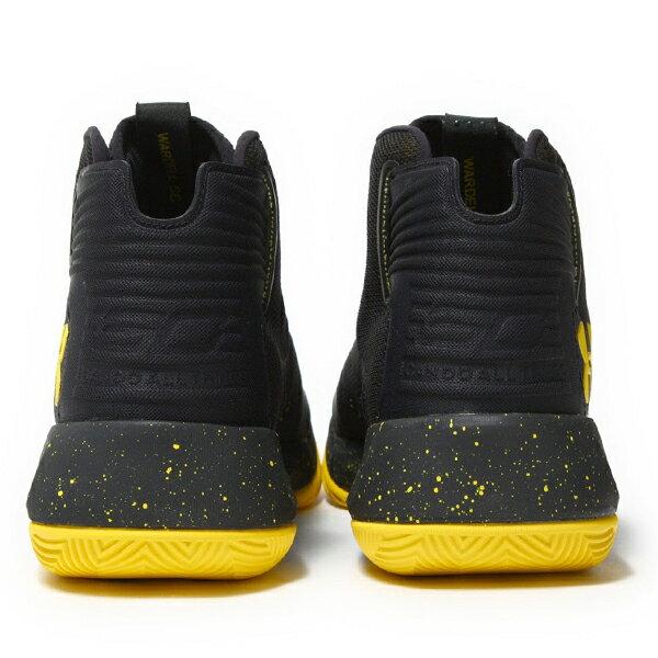 《出清59折》Shoestw【1298308-002】UNDER ARMOUR UA 籃球鞋 CS 3 ZERO 高筒 CURRY 黑黃 男生 3