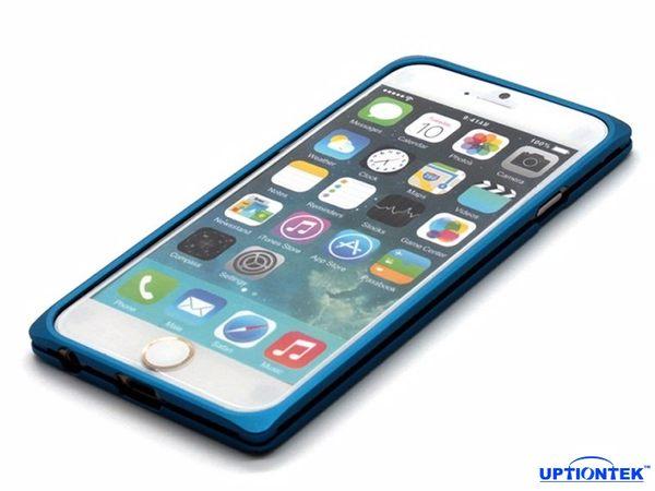 UptionTek Miyabi iPhone 6 4.7吋 IP631 藍色極致輕薄型鋁合金保護框