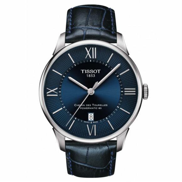 TISSOT天梭表 T0994081105800 杜魯爾系列時尚簡約機械腕錶 42mm