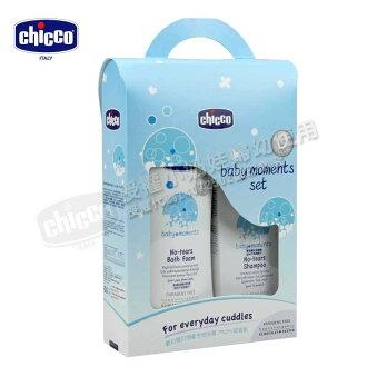 【點數下單送咖啡】Chicco - 寶貝嬰兒潤膚泡泡浴露 -溫和不流淚配方 750ml 超值組