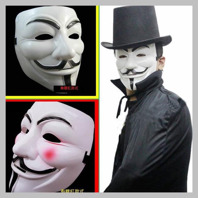 【塔克】萬聖節 V怪客 奪魂鋸 蝙蝠小丑 杰森殺手 面具/眼罩/面罩 cosplay 變裝 生日 聖誕禮物