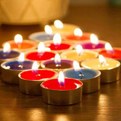 茶臘環保無煙香薰蠟燭 茶蠟燭(加香)單色10入