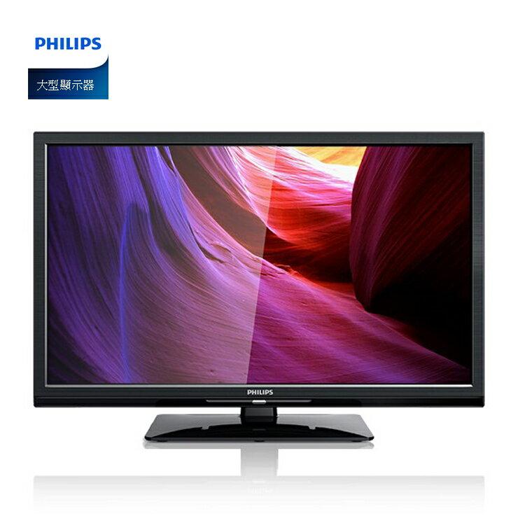 PHILIPS大型顯示器24PFH4200 含視訊盒
