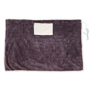 日本 Elaice 絨毛USB發熱毯 - 暖暖棕