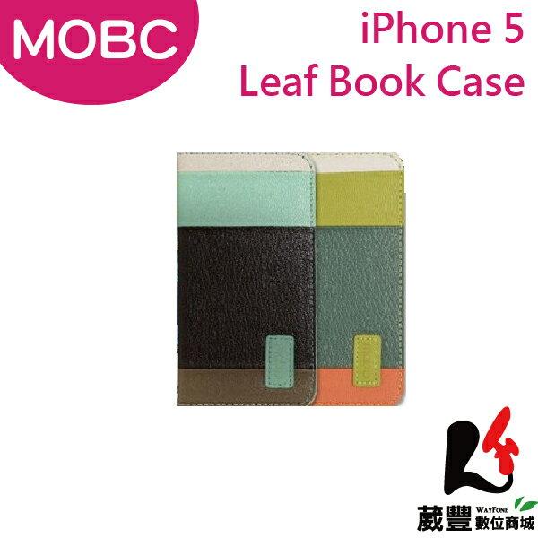 【滿3,000元10%點數回饋】AppleiPhone5MOBCLeafBook保護套