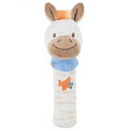 Nattou - 絨毛造型柱型bibi玩偶/亞瑟 2
