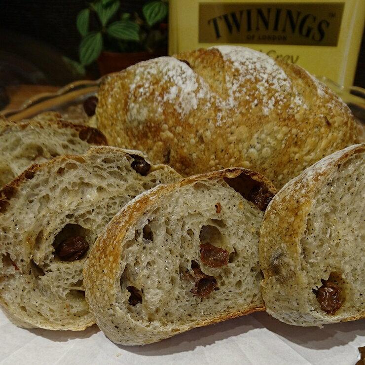 [52麵包坊] 紅茶葡萄乾 歐式麵包 唐寧伯爵茶 150克