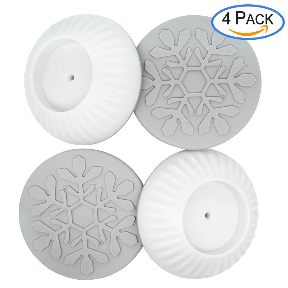 4 Pack Baby Gate Wall Protector Saver Universal Strong Grip Wall Guard Cups Pads for Dog Gates Walk Through Pressure Mounted Gates Make of Non-toxic 4