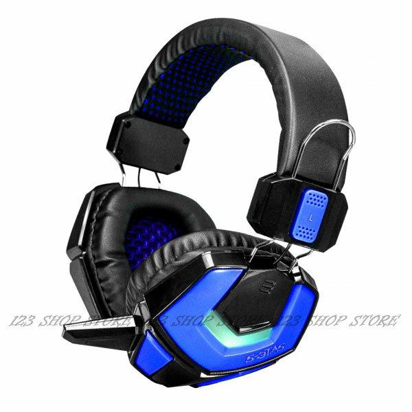 幻影者電競炫光耳機麥克風 EM-3702 耳罩式麥克風耳機 滾輪式音量調整鈕 3.5mm接頭【GU4XX】◎123便利屋◎