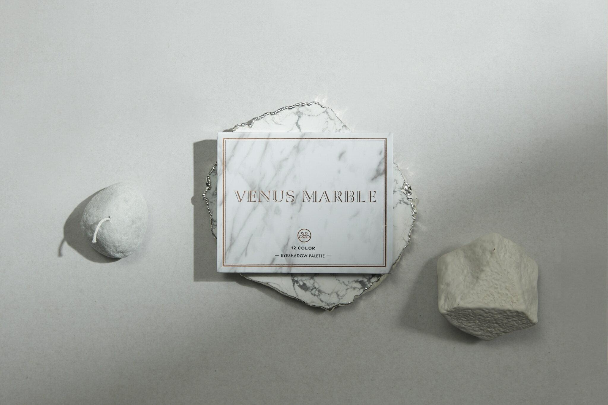 VENUS MARBLE 12色大理石眼影盤 5