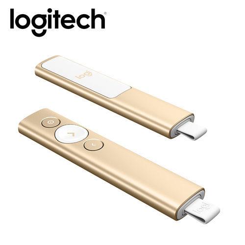 【迪特軍3C】現貨 Logitech 羅技 Spotlight 簡報遙控器 香檳金 無線簡報筆 放大/高亮強調