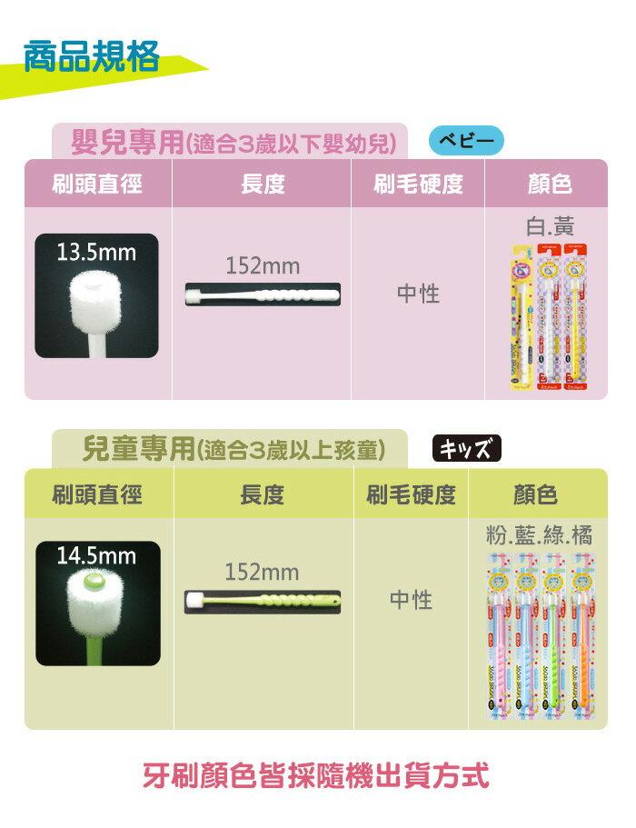 日本STB360度兒童牙刷  360度刷頭 兒童專用 STB 蒲公英 日本牙刷  3歲-~13歲 8