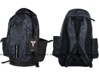 Shoestw【BA5132010】NIKE 後背包 KOBE 曼巴 灰黑 反光 大空間 籃球背包