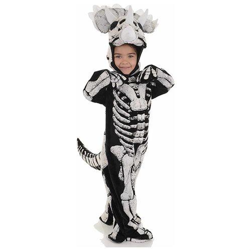 Triceratops Dinosaur Fossil Toddler Costume 0