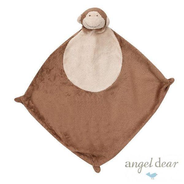『121婦嬰用品館』美國Angel Dear 動物嬰兒安撫巾 小猴AD1133(此商品售出不做退換) 0