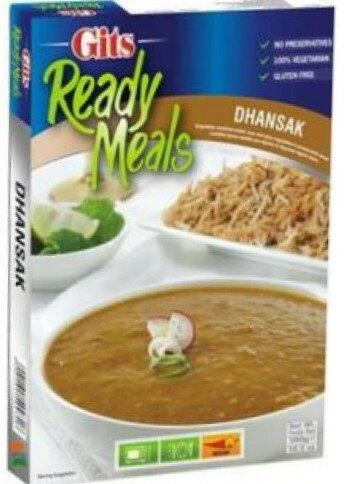 印度綜合豆類咖哩即食調理包  Dhansak GITS 300gm