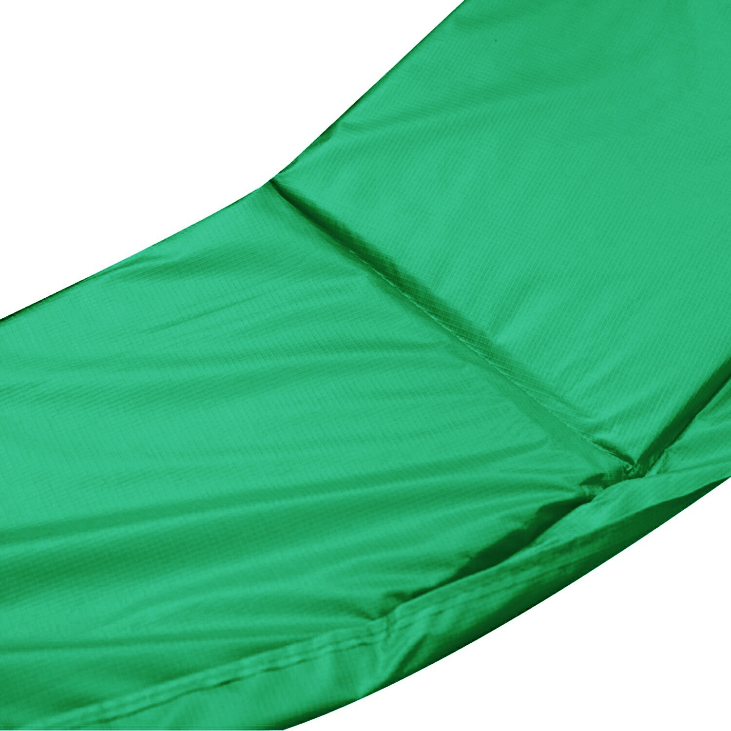 ExacMe 15' rampoline Replacement Safety Pad Frame Spring Round Cover Green 1