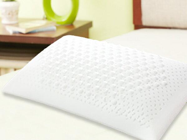 [Snug Nights]馬來西亞『釋壓按摩』100%天然乳膠枕68*40*12/10cm☆可拆式布套*人體工學/抗菌(限單件超取)