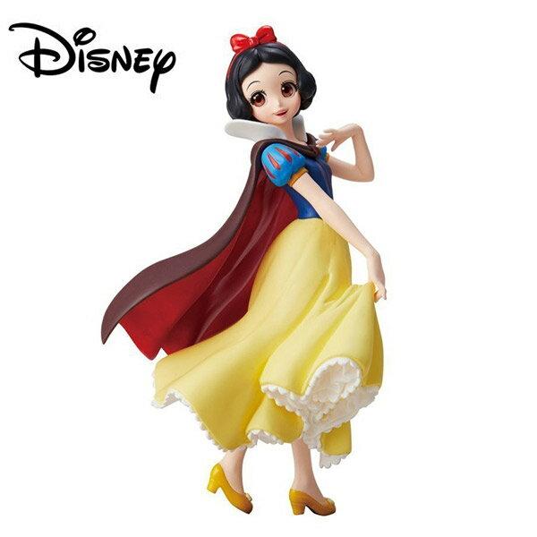 【日本正版】Crystalux白雪公主公仔模型迪士尼萬普Banpresto-381542