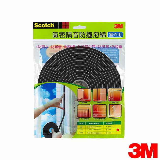 3M 室外用氣密隔音防撞泡棉(3-5mm)