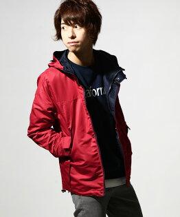 防潑水登山夾克紅色