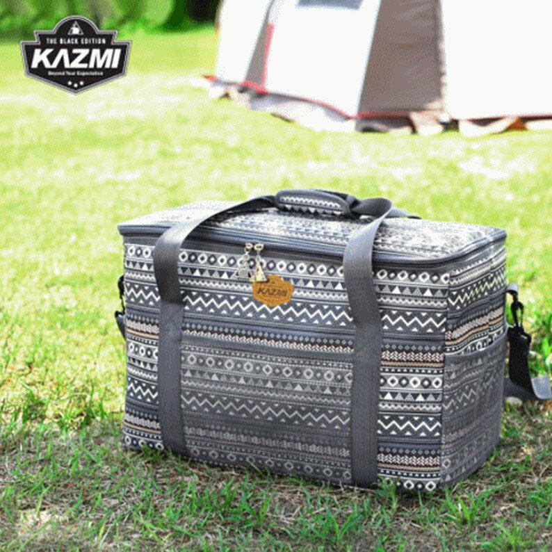 【露營趣】KAZMI K7T3B010 彩繪民族風裝備收納袋47L 裝備袋 收納袋 工具袋 旅行袋 攜行袋