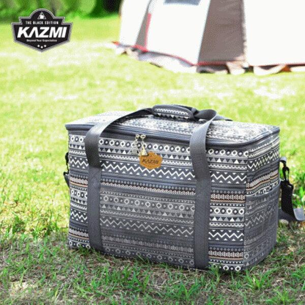 【露營趣】KAZMIK7T3B010彩繪民族風裝備收納袋47L裝備袋收納袋工具袋旅行袋攜行袋